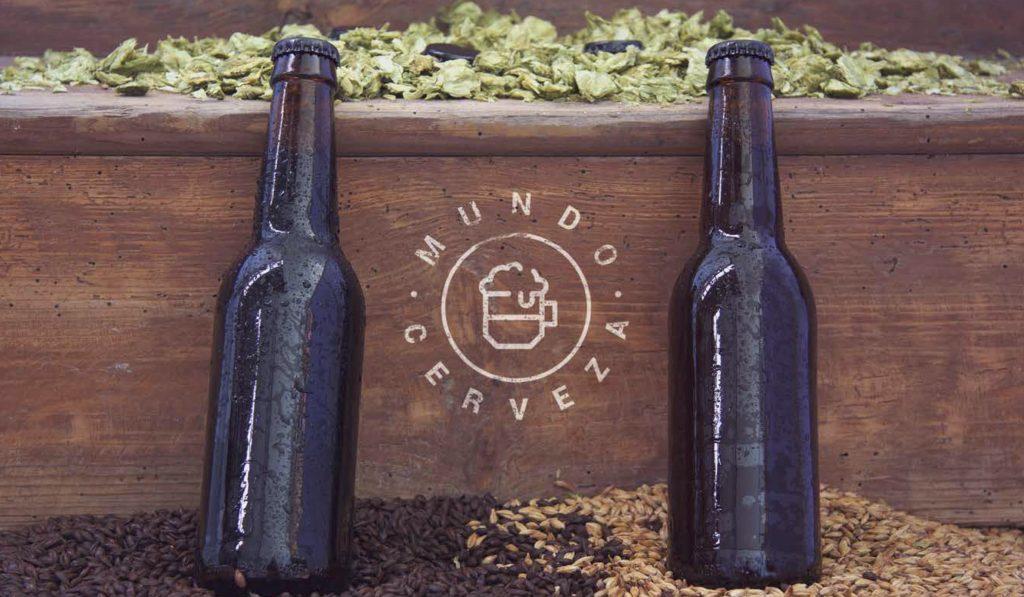 Mundo Cerveza Diseño de Logo Estudio Joplin